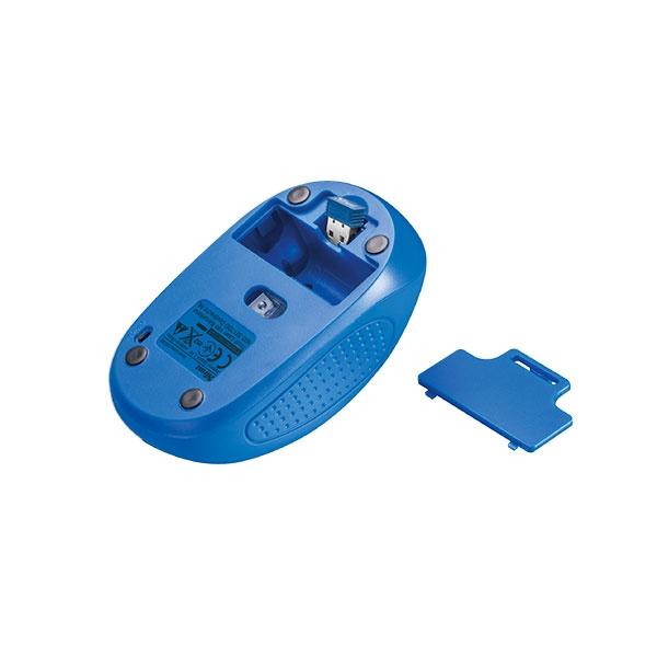 Trust Primo azul wireless  Ratón
