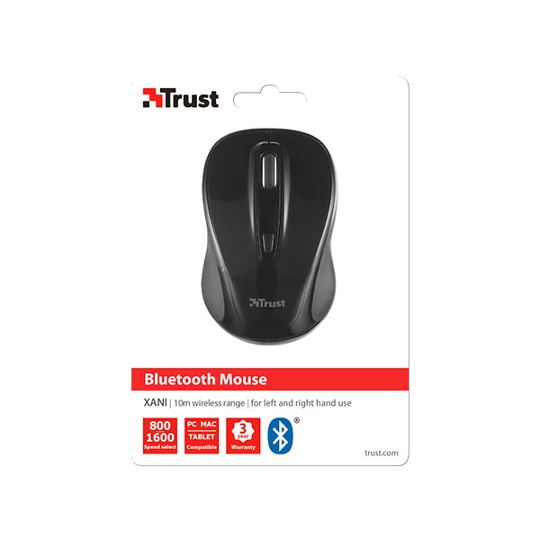 Trust Xani Bluetooth negro - Ratón