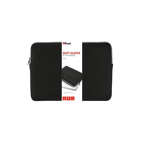 Trust Primo Soft Sleeve Neopreno hasta 13.3″ Negro – Funda