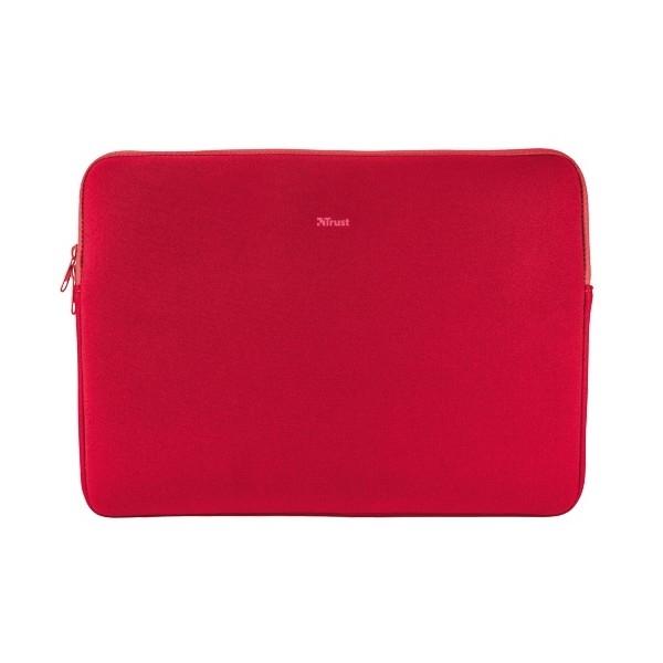 Trust Primo Soft Sleeve Neopreno hasta 116 Rojo  Funda
