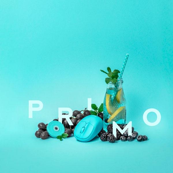 Trust Primo azul neon wireless  Ratón