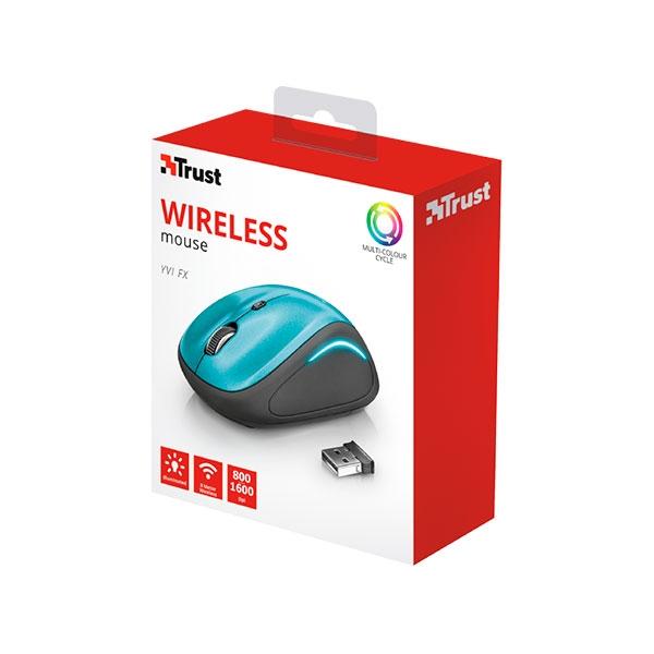 Trust Yvi FX azul wireless - Ratón