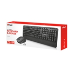 Trust Thoza wireless  Kit de teclado y ratón