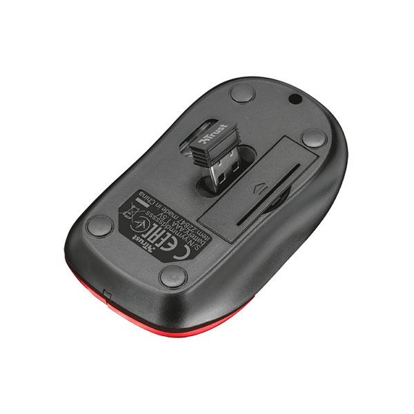 Trust Inu small wireless rojo Ratn