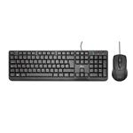 Trust Ziva deskset  Kit de teclado y ratn