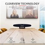 Trust Iris Sistema de Videoconferencia 4K  Webcam