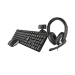 Trust Qoby 4in1 Home Office Set 24040  Pack Oficina