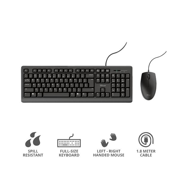 TKM250 Keyboard and Mouse Set  Combo