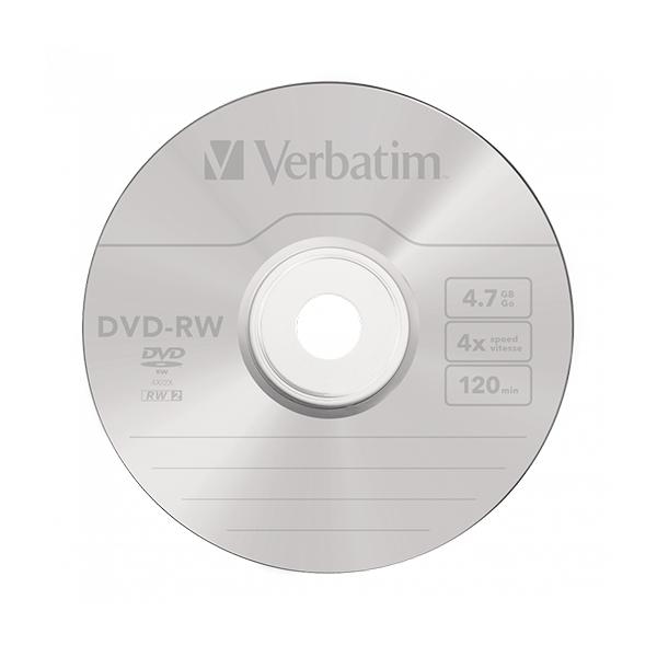 Verbatim DVDRW 4x Pack 5u 47GB  DVD