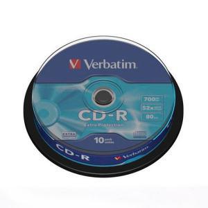 Verbatim  CDR x 10  700 MB eje