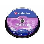 Verbatim DVDR 16x Bobina 10u 47GB  DVD