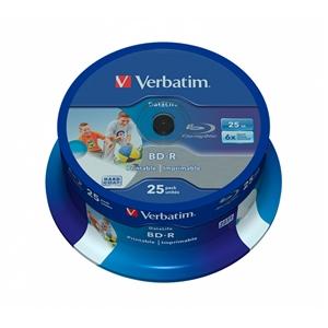 Verbatim BDR 6x Bobina 25u 25GB Imprimible  BluRay