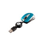 Verbatim Go Mini Optical Travel Mouse Azul caribe