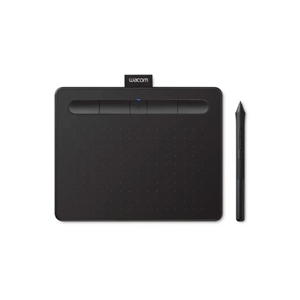Educacin Wacom Intuos S Bluetooth Negra  Tableta digitalizadora