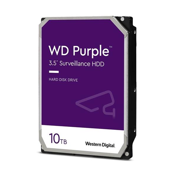 WD Purple 10TB 256MB 35 SATA 7200rpm  Disco Duro