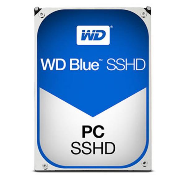 WD Blue Híbrido 1TB  8 GB Flash 64MB 25  SSHD