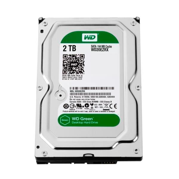 """WD Green 2TB 64MB 3.5""""- Disco Duro"""