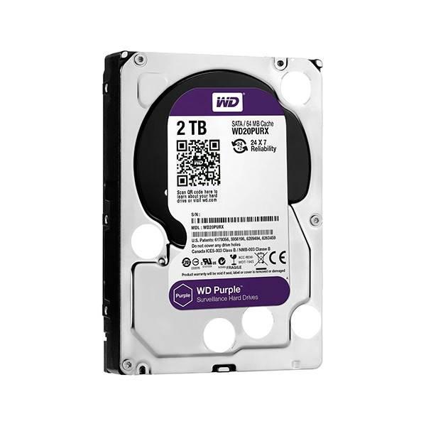 WD Purple 2TB 64MB 3.5″ – Disco Duro