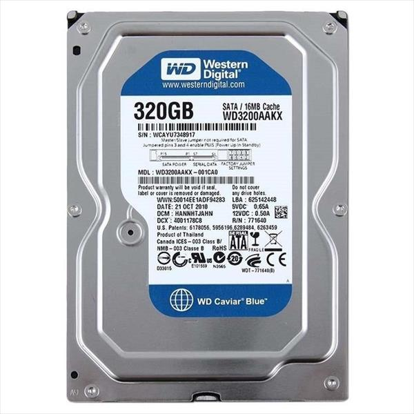 "WD Blue 320GB 16MB 3.5"" - Disco Duro"