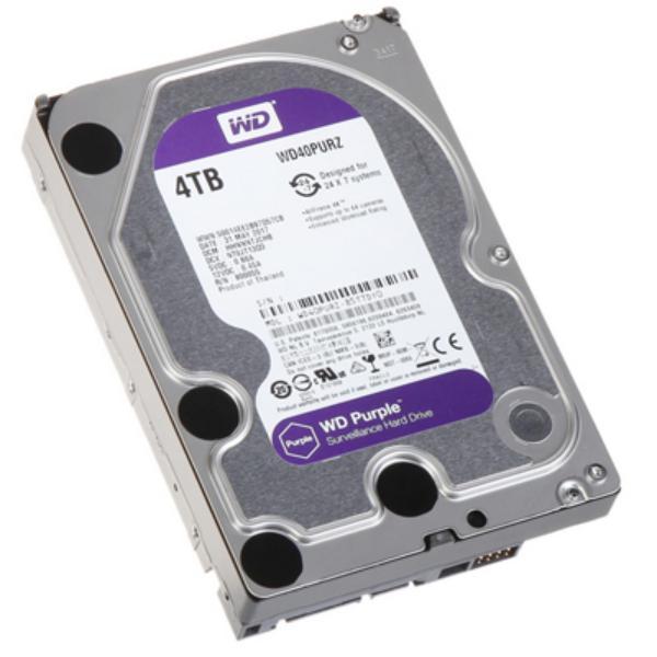 WD Purple 4TB 64MB 3.5″ SATA – Disco Duro