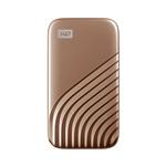 WD Passport 2TB USB 32 Gen 2 25 Dorado  SSD Externo