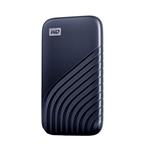 WD Passport 500GB USB 32 Gen 2 25 Azul  SSD Externo