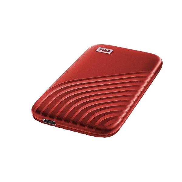 WD Passport 500GB USB 32 Gen 2 25 Rojo  SSD Externo