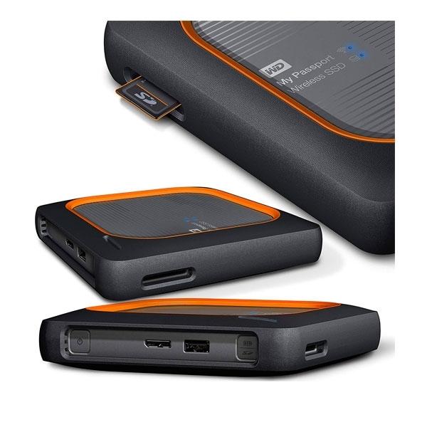 WD My Passport Wireless SSD 2TB  Disco Duro Externo