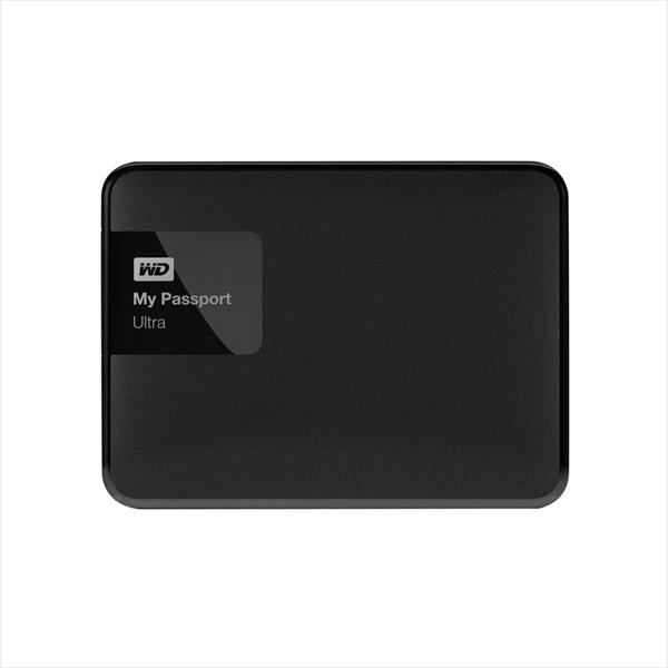 WD My Passport Ultra 4TB 2.5″ Negro – Disco Duro Externo