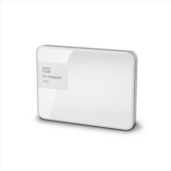 WD My Passport Ultra 4TB 2.5″ Blanco – Disco Duro USB
