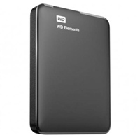 WD Elements SE USB 30 25 1TB Negro  Disco Duro Externo