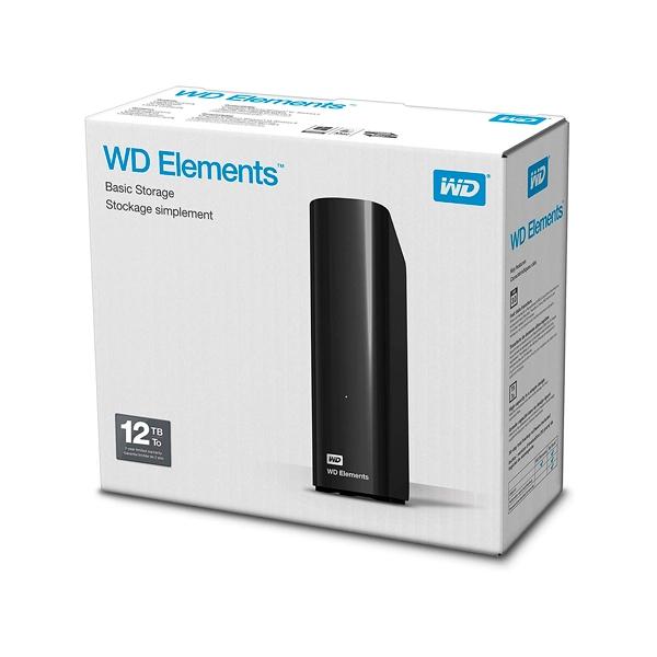 WD Elements Desktop 12TB 35  Disco Duro Externo