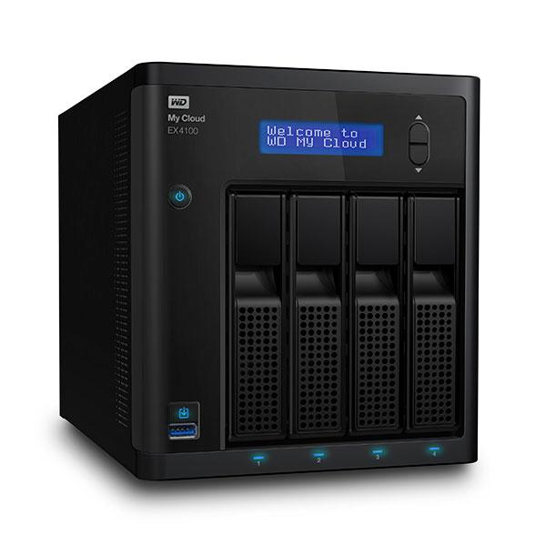 WD My Cloud EX4100 4 Bahías – Servidor NAS