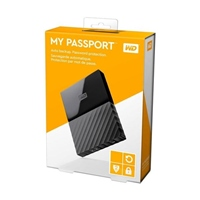 WD My Passport 1TB 2.5″ Negro – Disco Duro USB