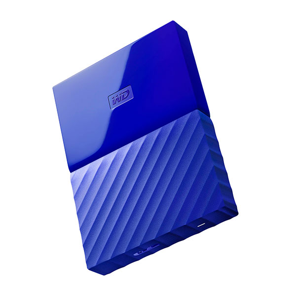 WD My Passport 1TB 25 Azul   Disco Duro USB