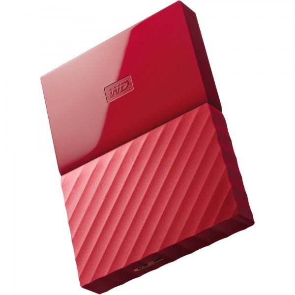 WD My Passport 1TB 2.5″ Rojo  – Disco Duro USB
