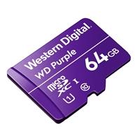 WD Purple 64GB - Tarjeta MicroSD para videovigilancia