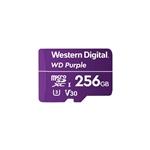WD Purple 256GB  - Tarjeta MicroSD para videovigilancia