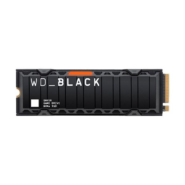 WD Black SN850 1TB M2 PCIe Gen4 NVMe con disipador  SSD