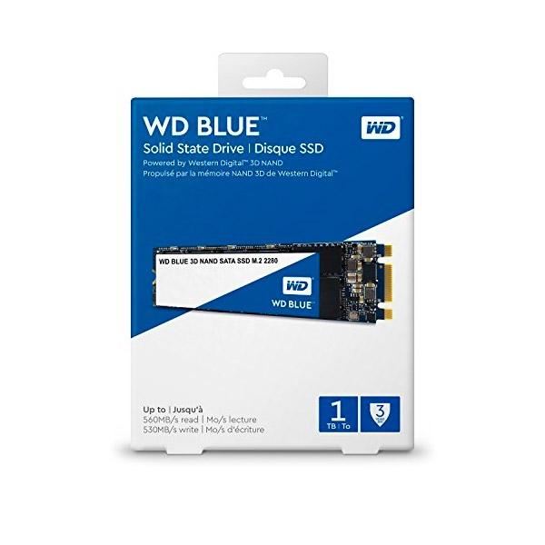 WD Blue 1TB M.2 2280 SATA 3DNand - Disco Duro SSD