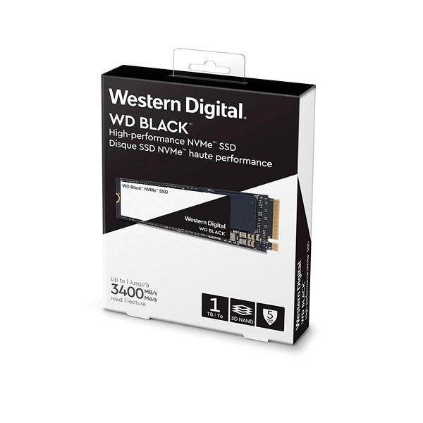 WD Black 1TB M.2 2280 PCIe NVMe - Disco Duro SSD