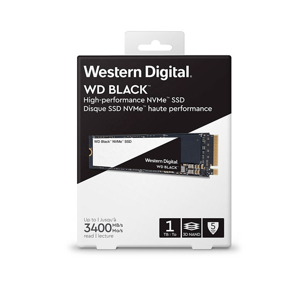WD Black 1TB M2 2280 PCIe NVMe  Disco Duro SSD