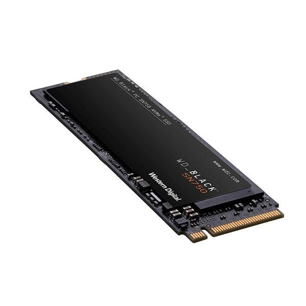 WD Black SN750 2TB M.2 PCIe NVMe - Disco Duro SSD