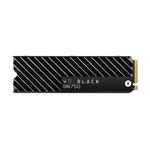WD Black SN750 2TB M2 PCIe NVMe con disipador  SSD