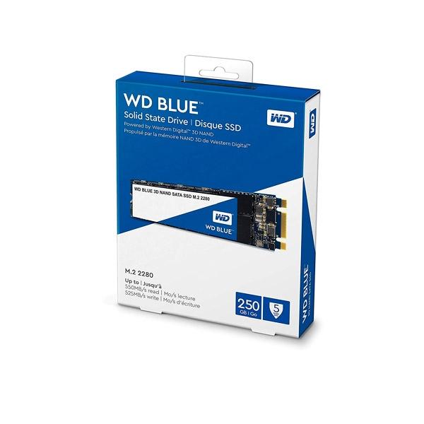 WD Blue 250GB M2 2280 SATA 3DNand  Disco Duro SSD