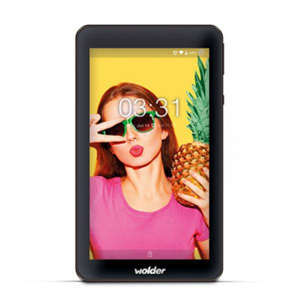 "Wolder MiTab One 7"" QC 1.3GHZ 1GB RAM 8GB Andro 5.1 - Tablet"