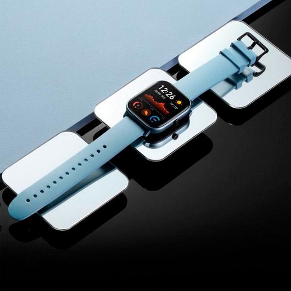 Xiaomi Amazfit GTS 165 Steel Blue GPS  Smartwatch