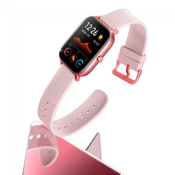 "Xiaomi Amazfit GTS 1.65"" Rose Pink GPS - Smartwatch"