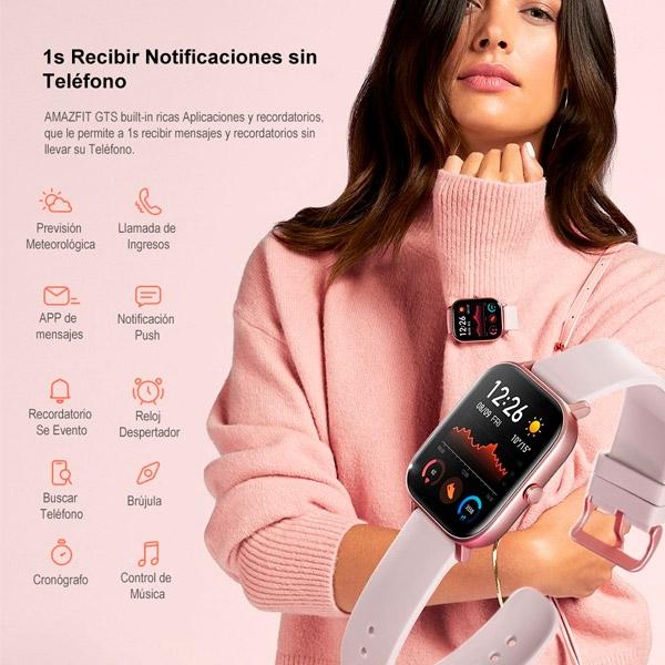 Xiaomi Amazfit GTS 1.65″ Rose Pink GPS – Smartwatch