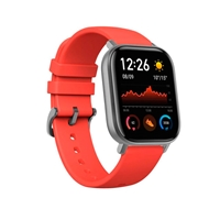 "Xiaomi Amazfit GTS 1.65"" Vermillion Orange GPS - Smartwatch"